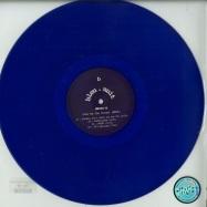 Front View : Ghini-B - OVER BY THE CORNER EP (BLUE VINYL )(VINYL ONLY) - Bleu Nuit / BN04