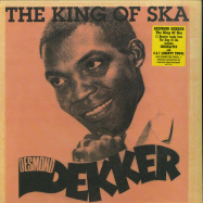 Front View : Desmond Dekker - THE KING OF SKA (180G, RED COLOURED VINYL) - Burning Sounds / BSRLP905