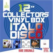 Front View : Various - COLLECTORS VINYL BOX: ITALO DISCO (5X12 INCH BOX) - Zyx Music / MAXIBOX LP23
