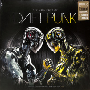 Front View : Various Artists - THE MANY FACES OF DAFT PUNK (LTD COLOURED 180G 2LP) - Music Brokers / VYN049