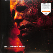 Front View : John Carpenter / Cody Carpenter / Daniel Davies - HALLOWEEN KILLS O.S.T. (LTD ORANGE & WHITE LP) - Sacred Bones / SBR263C10 / 00148371