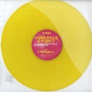 Front View : Kaiser Souzai & Nudisco - KAISERDISCO EP (yellow vinyl) - Hi Freaks Limited / Hiltd0046