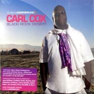 Front View : Carl Cox pres. - BLACK ROCK DESERT GU38 (2XCD) - Global Underground / 31850382