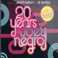Front View : Various mixed by Grant Nelson & DJ Spinna - 20 YEARS OF JOEY NEGRO (3XCD) - Z-Records / PDDZCD001