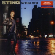 Front View : Sting - 57TH & 9TH (BLUE 180G LP) - Universal / 602557117752