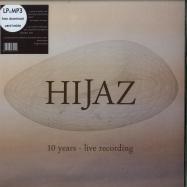 Front View : Hijaz - 10 YEARS - LIVE RECORDING (LP) - Zephyrus Records / ZEPLP036