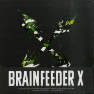 Front View : Various Artists - BRAINFEEDER X (2CD) - Brainfeeder / BFCD077