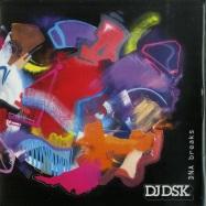 Front View : DJ DSK / DNA - DNA BREAKS (SPLATTERED 7 INCH) - Dinked Records / DNA-001