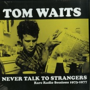 Front View : Tom Waits - NEVER TALK TO STRANGERS (LP) - Wax Radio / WLVR001