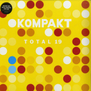 Front View : Various Artists - TOTAL 19 (2X12INCH) - Kompakt / Kompakt 400