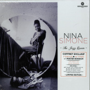 Front View : Nina Simone - THE JAZZ QUEEN BOX (3LP BOX + POSTER) - Wagram / 3369296 / 05179721