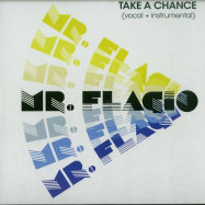 Front View : Mr.Flagio - TAKE A CHANCE (7 INCH) - Discoring Records / DR-002-7