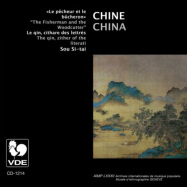 Front View : China- The Qin, Ziter Of The Literati - THE FISHERMAN AND THE WOODCUTTER (CD) - VDE / VDECD-1214