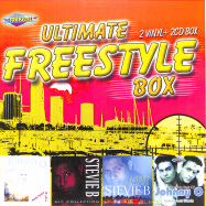 Front View : Johnny O / Stevie B - ULTIMATE FREESTYLE BOX (2LP + 12 INCH + 2CD) - Zyx Music / ZYX BOX 058