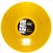 Front View : Dynamo City - ONE NIGHT IN HACKNEY - TAKE THIS PILL REMIXES (LTD YELLOW VINYL / REPRESS) - Stay Up Forever / SUFR041LTD