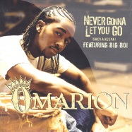 Front View : Omarion Feat Big Boi - NEVER GONNA LET YOU GO - Epic Records sny76979
