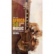 Front View : Various Artists - Africa 50 Years Of Music (lim.ed) (18x CD BOX) - Discograph / 3218462