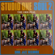 Front View : Various Artists - STUDIO ONE SOUL 2 (2X12 + MP3) - Soul Jazz Records / sjrlp128 / 866451