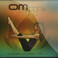 Front View : Various Artists - OM YOGA 2 (CD) - OM Records / om600