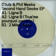 Front View : DJulz & Phil Weeks - SECOND HAND SMOKE EP / TRUS ME RMX (CLEAR VINYL) - Rex Club Music / RCM001