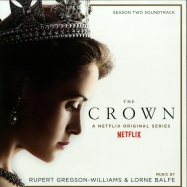 Front View : Ruper Gregson-Williams & Lorne Balfe - THE CROWN SEASON 2 O.S.T. (LTD GOLDEN 180G 2X12 LP) - Music On Vinyl / movatm186