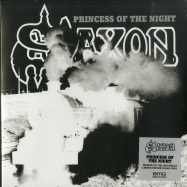 Front View : Saxon - PRINCESS OF THE NIGHT (LTD CLEAR 7 INCH) - BMG / BMCAT169SV
