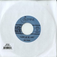 Front View : Ben Piriani - LIGHT OF MY LIFE / DREAMINS FOR FREE (7 INCH) - Colemine / CLMN156-7