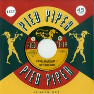 Front View : September Jones / The Pied Piper Players - CHINK A CHANK BABY / THATS WHAT LOVE IS (7 INCH) - Ace Records / PIPER 013
