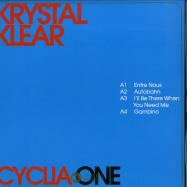 Front View : Krystal Klear - CYCLIA ONE - Running Back / RB086.1