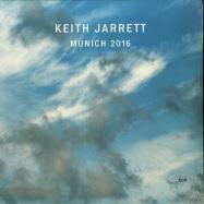 Front View : Keith Jarrett - MUNICH 2016 (2LP) - ECM Records / 0829260