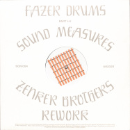 Front View : Fazer Drums - SOUND MEASURES (ZENKER BROTHERS REWORK) - Squama / SQM004