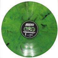 Front View : Narciss - LANGUAGE OF LOVE EP (GREEN MARBLED / REPRESS) - Lobster Theremin / LT073RP