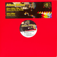 Front View : Alton Miller - WHERE DID WE GO WRONG - Noble Square Recordings / NSRVINYL013