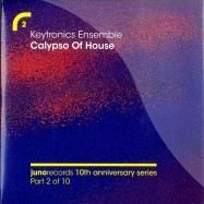 Front View : Keytronics Ensemble - CALYPSO OF HOUSE (4 TRACK CD) - Juno2CD