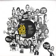 Front View : Jagged - BIASCA EP / KNARF SKIPSON RMX - Bonzzaj / BON007