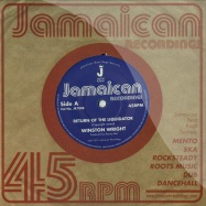 Front View : Winston Wright - RETURN OF THE LIQUIDATOR (7 INCH) - Jamaican Recordings / jr7008