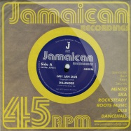 Front View : Dillinger / King Tubby & The Aggrovators - JAH JAH DUB / A SOCIAL VERSION (7 INCH) - Jamaican Recordings / jr7014