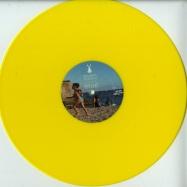 Front View : Ron Juan - O PAIS DO SOL (YELLOW VINYL) - White Rabbit Recordings / WRR007