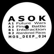 Front View : ASOK - FUTURE WARS EP - M>O>S Deep / mosdeep024