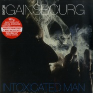 Front View : Serge Gainsbourg - INTOXICATED MAN (LTD 180G 2X12 LP + MP3) - Le Chant du Monde / 74277374