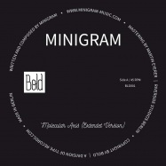 Front View : Minigram - MOLECULAR AXIS (180G VINYL) - Bold / BLD001