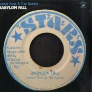 Front View : Junior Ross & The Spears - BABYLON FALL (LP) - Kingston Sounds / KSLP077 / 171121