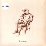 Front View : Mooneye - MOONEYE EP (MARBLED VINYL + CD) - Mayway Records / mayway007ep