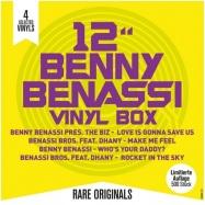 Front View : Benny Benassi - BENNY BENASSI VINYL BOX (4X12 INCH) - Zyx Music / MAXIBOX LP18