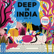 Front View : Todh Teri - DEEP IN INDIA VOL.6 (LIMITED,VINYL ONLY) - Todh Teri / TODH006