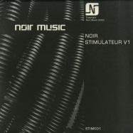 Front View : Noir - STIMULATEUR V1 (2X12 INCH) - Noir Music / STIM001