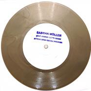 Front View : Sascha Mueller - BEAT JUNKIE / DOPE BEATZ (7 INCH, GOLD COLOURED VINYL) - INTRAUTERIN RECORDINGS / INTRAUTERIN008