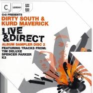 Front View : Dirty South & Kurd Maverick - LIVE & DIRECT SAMPLER VOL.2 - Cr2 Records / 12c2ldx001