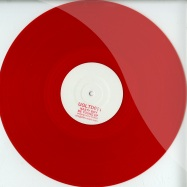 Front View : Nasty Boy - BE YOUNG EP (CLEAR RED VINYL) - Underground Limited / UGLTD011