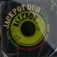 Front View : Various Artists - RARE DUBS FROM JACKPOT RECORDS 1974 - 1976 (CD) - Jamaican / jrcd052